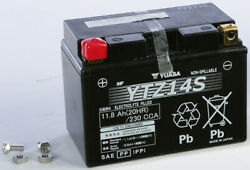 H-p Factory Activated Agm Maintenance Free Battery Ytz14s Yamaha Vmax 1700 09-20