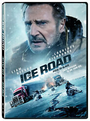 The Ice Road Dvd 2021 With Liam Neeson-action Suspense Thriller