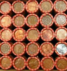 Estate Sale - Unsearched Lincoln Wheat Penny Rolls 1909-1958 Pds