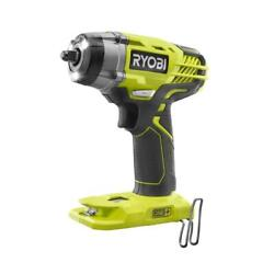 Ryobi One+ Cordless Impact Wrench 3/8 3 Speed 18 Volt 3200 Rpm Tool Only New