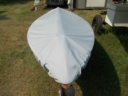 Sunfish Sailboat Cover Allows Under The Cover Storage For Sail/spar And Mast Bag