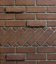 Empire Comfort Systems Ceramic Fiber Liner For Luxury Fireplaces - Banded Brick