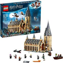 Lego Harry Potter Hogwarts Great Hall 75954 Building Kit 878 Pieces - New