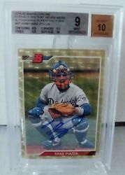 2016 Bowman Chrome Mike Piazza Superfractor Refractors That Never Were Bgs 9