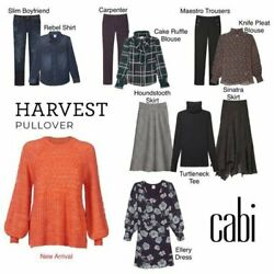Nwt 119 Cabi Harvest Pullover Sweater Size Small Fall 2020 New Release Piece