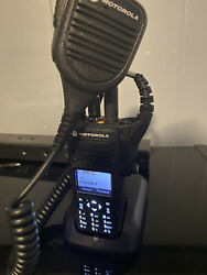 Motorola Xpr 7580e With Speaker Mic Battery And. Charger