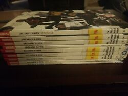 Marvel All-new And Uncanny X-men Lot Of 9 Bendis Marvel Now Tpbs/hcs