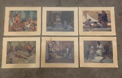 A History Of Medicine In Pictures Parke Davis Robert A. Thom Paintings Lot Of 42