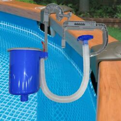 Pool Wall-mounted Surface Skimmer Automatic Clean Basket Floating Debris Leaves