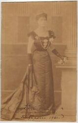 Mary Of Teck, Queen 1867-1953 - Imperial Cabinet Photograph Signed