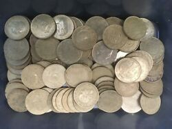Collection Of 100 X 200 Lire Italy Italia Pre-euro Coins, Mixed Dates