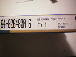 Teleflex Cc20506 6 Ft. Shift/throttle Cable Free Freight
