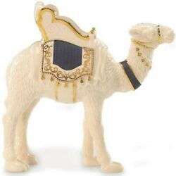 Lenox First Blessing Nativity Standing Camel Figurine Navy Blue Saddle Rare New
