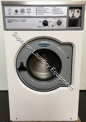 Wascomat W620 Washer, 20lb, White, Coin, 120v, 1ph, Reconditioned