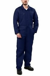 Menand039s Long Sleeve Blended Coverall