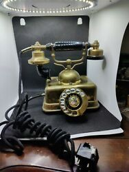Vintage Ornate Victorian Phone From Intercontinental Phone Company Model 1752