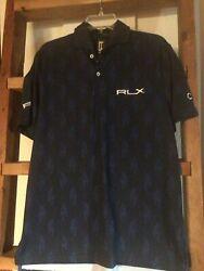 Rlx Justin Thomas Tiger Golf Polo Player Issued Cit Sz S Fits L