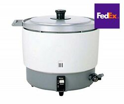 Paloma Rice Cooker Large Volume Lp Gas Max 6 Liters Lng Business Use Fedex