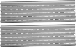 2 Heat Plates Stainless Steel Tent Shield Burner Cover 21 X 5 15/16 For Viking