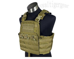 Flyye Field Armor Compact Plate Carrier Cpc Tactical Vest – Khaki Cordura Cb Od
