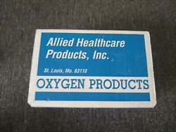 New Allied Healthcare Products Lsp Minilator Model L419 Life Support Oxygen