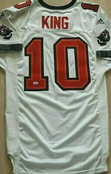 Tampa Bay Buccaneers Shaun King Authentic 2000 Nfl Game Jersey By Adidas