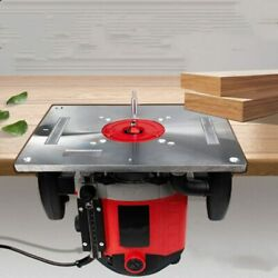 Multifunctional Aluminum Router Table Insert Plate Trimmer Engraving Machine