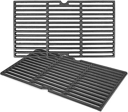 Cast Iron Cooking Grates Grid 2-pack For Traeger 22 Series Pit Boss Pellet Grill