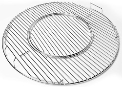 Round Cooking Grate Grid 21.5 For Weber Charcoal Kettle Performer 22.5 Grills