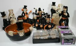 Yankee Candle Boney Bunch Lot Of 7 Halloween Plus Discontinued Halloween Candles