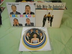 Rosemary Clooney And The Hi-lo's Hello We're The Axidentals Now Hear This 3 Lps