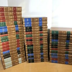Encyclopedia Britannica Great Books Of The Western World 53/54 Set 1952 Printing
