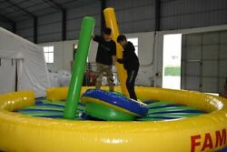 New Rockinand039 Joust Inflatable Interactive Game