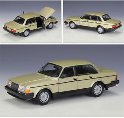 Welly 124 For Volvo 240gl Diecast Car Model Alloy Static Display Mens Gift