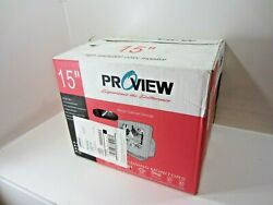Proview Ps509 15 Color Monitor New Old Stock, Unused - Vintage Gaming, Etc.