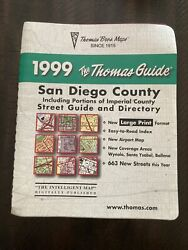 The Thomas Guide 1999 San Diego County Street Guide And Directory Map