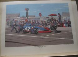 272/2000 Richard Petty's The King And His Court 1992 Team By Vance Nichols Coa