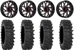 Fuel Runner 20 Wheels Red 35 Xm310r Tires Can-am Defender
