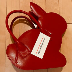 New Comme Des Garcons Red Rabbit Hand Bang Rare Women Used Fast Shipping Unused