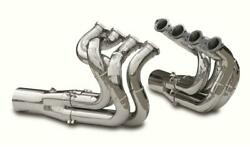 Dynatech 750-97410 Big Block Chevy Chrome Downsweep Headers Merge Collectors