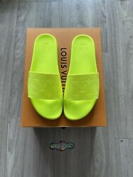 Louis Vuitton Waterfront Mule 1a8z9l Size Us 10 Rare Color Sold Out Everywhere