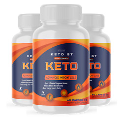 3 Pack Official Keto Gt, Bhb Ketones, 1 Bottle Package, 30 Day Supply