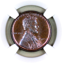 1919-s Ms65+ Bn Ngc Lincoln Wheat Penny Registry Quality Collection