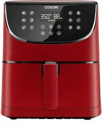 Cosori Air Fryer Xl - Digital Hot Oven Cooker 13 Functions5.8 Qt Burgundy Red