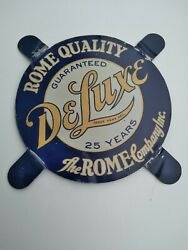 Vintage 5 The Rome Company Deluxe Matress Box Spring Bed Furniture Tin Sign