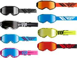 Fly Racing '19-20 Zone Goggles Mx Motocross Off-road Mirrored Lens Adult And Youth