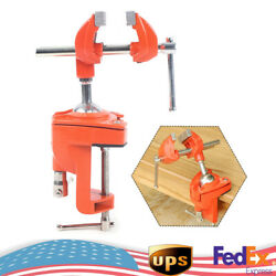 Universal Small Vice Portable With Rubber Gasket Bowling Rod Clamping Post