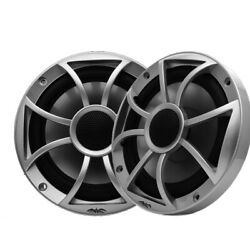 Wet Sounds Refurbished Xs-55ic 5.25 Speaker W/ Silver Xs Grill And Silver Cone