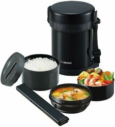 Zojirushi Vacuum Thermos Insulated Lunch Box Bento Food Container Sl-gh18-ba