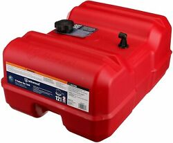 Attwood 12-gallon Low Profile Portable Boat Fuel Gas Tank Marine Epa/carb New